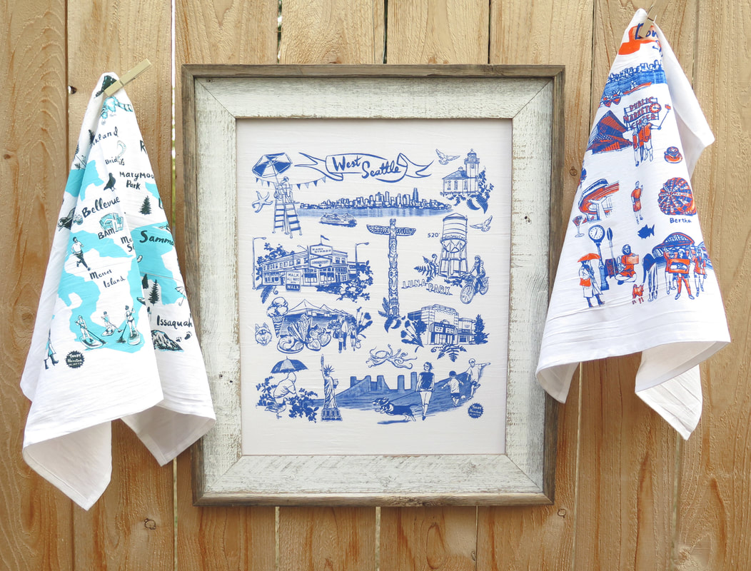Tea Towels and Bags - OLIOTTO
